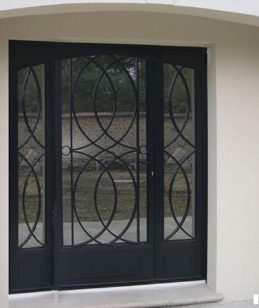 Porte d'entrée Clotures Nouvelles